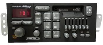 Pontiac Radio Tape Cassette Deck Player Monsoon Stereo OEM