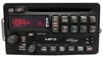 Factory Remanufactured Pontiac Sunfire Grand AM Radio CD MP3