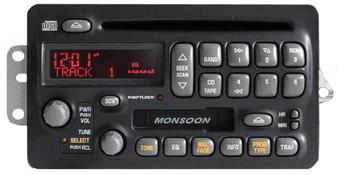2000 2001 Pontiac Grand Am Sunfire MONSOON CD Player Tape Radio 00 01