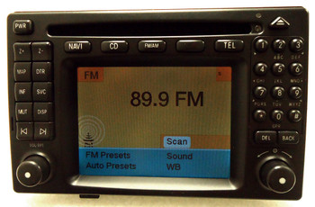 New Mercedes-Benz Comand Navigation Radio CD Player E-Class