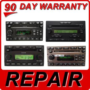 REPAIR FORD LINCOLN MERCURY 6 CD Disc Changer Radio REPAIR