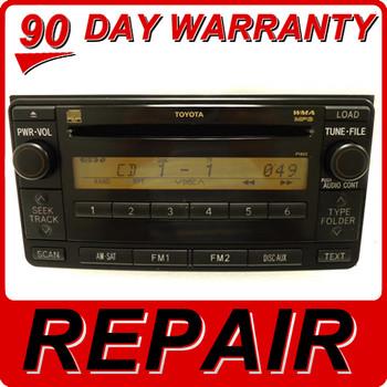 Toyota Scion 6 Disc Changer CD Player OEM Repair Service Fix