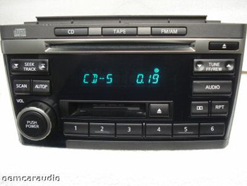 Nissan Maxima Radio Tape CD Player PN-2431D CR120 2000 01 02 2003
