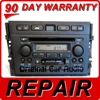 REPAIR Acura TL 2TB0 1999 2000 2001 Radio CD Player BOSE NAVIGATION 39101-S0K-A010-M1, 39100S0KA11ZA, 39101-S0K-A110, 39100S0KA10ZA