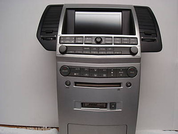 04 05 06 Nissan Maxima Radio, Tape and 6 CD player Screen Display Buttons Bezel Full Unit BOSE