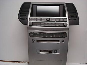 Maxima Satellite GPS Radio Tape Remote Control 6 CD Changer