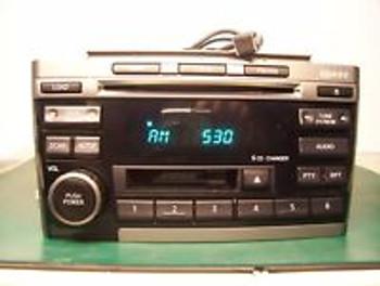 00 01 02 03 Nissan Maxima Radio, Tape and 6 CD player BOSE