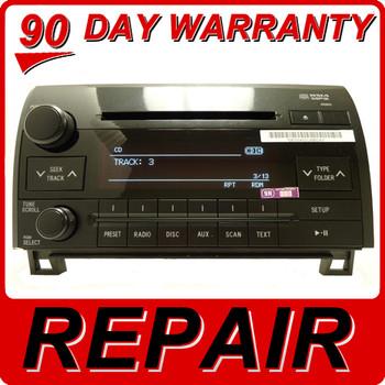 Toyota Tundra Sequoia Radio CD Player Repair Service Fix oem