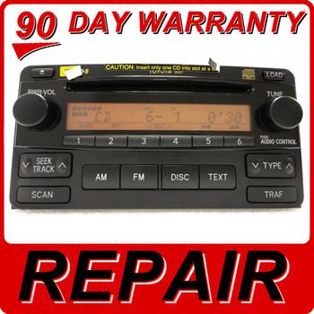 2007 TOYOTA PRIUS RADIO CD PLAYER 86120-47210 OEM 04 05 06 07 08 09