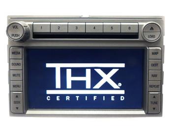 2006 - 2010 Lincoln Navigation Radio 6 Disc Changer MP3 CD Player Stereo
