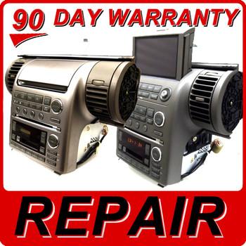REPAIR 2003 2004 Infiniti G35 G 35 Bose Radio CD Player 6 Disc 28188 AM600 AM610 AM670 AM675 AM800 AM860