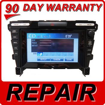 07 08 09 10 11 12 13 REPAIR MAZDA CX-7 Navigation Radio 6 CD Changer 2007 2008 2009 2010 2011 2012 2013