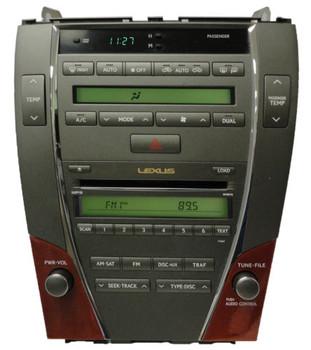 07 08 09 Lexus ES350 Radio 6 Disc CD Changer Satellite Climate