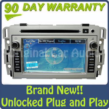 Chevy Chevrolet radio stereo MP3 CD player navigation system