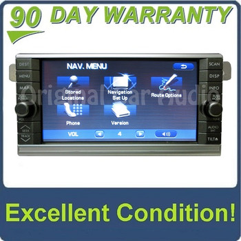 Subaru Bluetooth Navigation Radio Aux 6 CD Player XM MP3