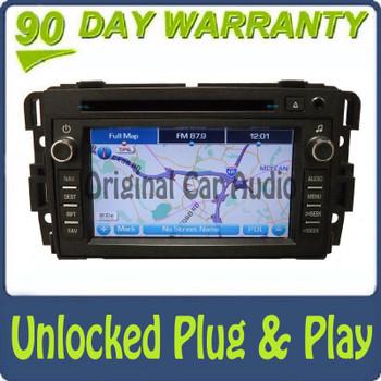 GMC Acadia Navigation Radio MP3 GPS CD Changer