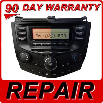 03 04 05 06 07 Honda Accord Radio and CD Player Repair