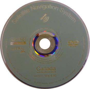 ACURA RL MDX Navigation Navteq Map Disc Disk DVD Rom BM515CO Canada 4.92