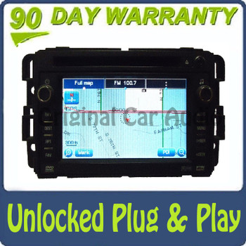 Unlocked GMC Chevrolet Navigation GPS Radio OEM Receiver