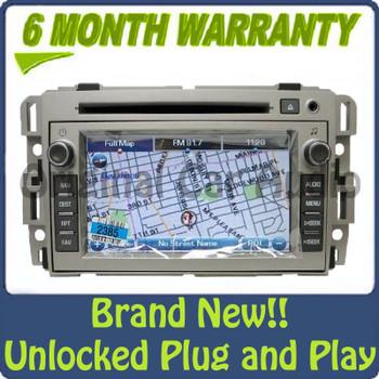 Unlocked Buick Navigation Radio GPS CD Player Display OEM