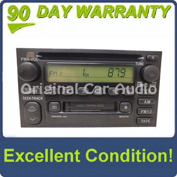 1990 -2002 Toyota Radio CD  and Cassette Player