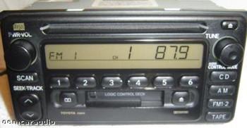 2000 - 2003 Toyota Radio  Tape and CD Player