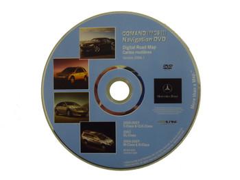 Mercedes-Benz Navigation Map Disc Version 2006.1