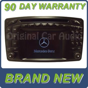 Mercedes-Benz Comand Navigaton GPS radio screen CD player