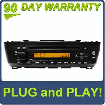 00 01 02 03 04 05 06 Nissan Sentra OEM AM FM Radio Stereo Single CD Player AUX Remote Changer Controls 4 Speaker 100 Watt System CY620 CY08B