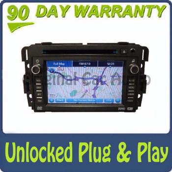 Unlocked Buick Navigation GPS Display Screen Radio Stereo