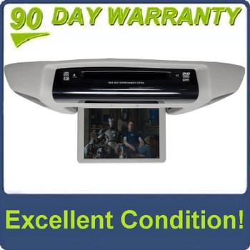 SUBARU Tribeca DVD Player Rear Entertainment System LCD Display Screen Monitor GREY GRAY 86255XA00AMVV 86255XA00AMV 2006 2007 2008 2009 2010 2011 OEM With Lights