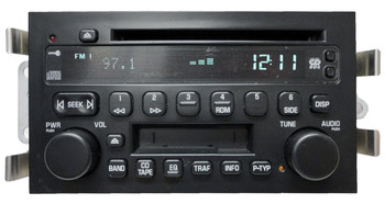Buick Radio Tape CD Player Changer Cassette Deck RDS Stereo