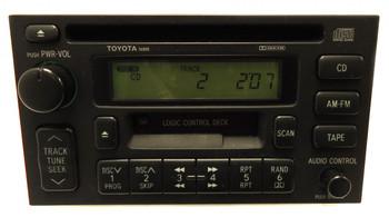 93 94 95 96 97 98 99 Toyota Radio Tape CD Player 56808 86120-35170