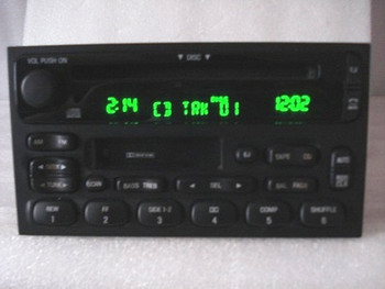2000 - 2002 Mercury Villager Nissan Quest OEM Radio Stereo Tape CD Player Receiver