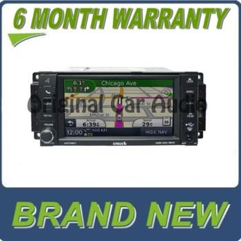 New 2007 - 2013 JEEP DODGE CHRYSLER MyGig RHB Navigation GPS Radio Stereo AM FM CD Player