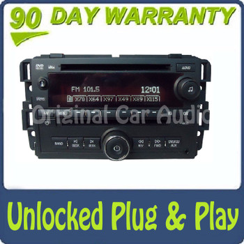 Unlocked GMC Radio DVD Player CD Changer Aux Stereo OEM