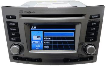 12 13 Subaru Legacy HD Radio Sat MP3 CD Player PE627U1 PE669U1