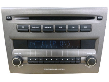 2004 - 2014 PORSCHE Boxter 911 Cayman CDR-24 Radio CD Player