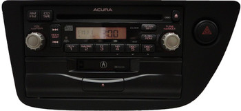 02 03 04 ACURA RSX OEM AM FM Radio Cassette 4XJ0 CD Player 39100-S6M-A000 AUX