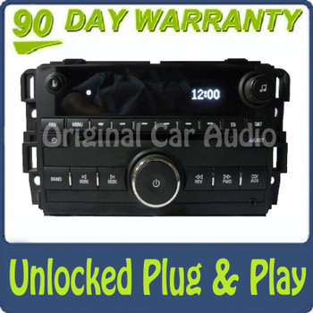 Unlocked Acadia Radio MP3 CD Player Aux Stereo Receiver