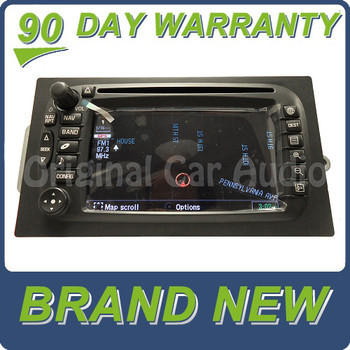 New Chevy GMC Hummer GPS navigation screen CD Player