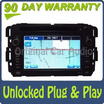Unlocked GMC Chevrolet Navigation GPS Radio Stereo OEM