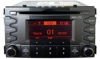 2010 2011 Kia SOUL OEM Radio MP3 XM Sirius Sat Bluetooth CD Player