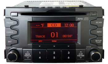 2010 2011 Kia SOUL Radio MP3 XM Sirius Sat Bluetooth CD Player No Amp