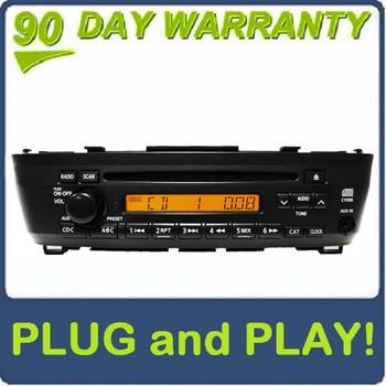 00 01 02 03 04 05 06 Nissan Sentra OEM AM FM Radio Stereo Single CD Player AUX Remote Changer Controls 7 Speaker 180 Watt System