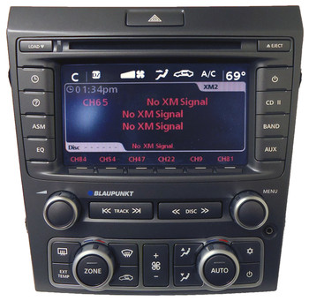 Pontiac Radio 6 Disc CD Changer TouchScreen BLAUPUNKT XM aux