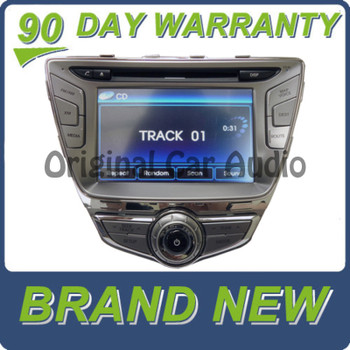 2011 - 2013 Hyundai ELANTRA Navigation Radio XM Satellite CD Player 13MY