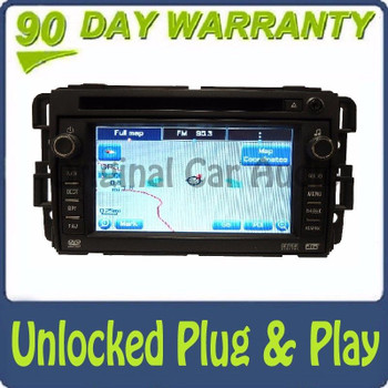 Unlocked GMC Hummer Chevy Radio Navigation CD Player Stereo