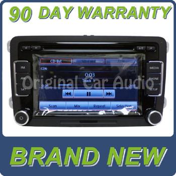 10 11 12 13 VW Volkswagen radio 6 CD player touch screen MP3 Satellite OEM RCD-510