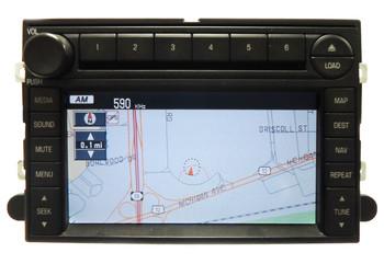 06 2006 Ford FREESTYLE Navigation GPS 6 CD Radio Changer